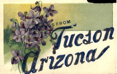 Greetings From - Tucson, Arizona AZ Postcard