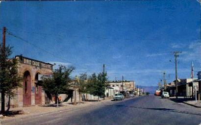 Allen Street - Tombstone, Arizona AZ Postcard