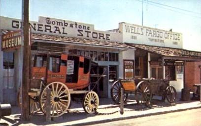 Tombstone General Store - Arizona AZ Postcard