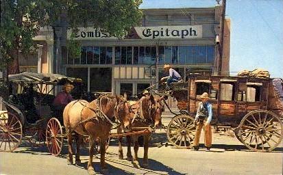 The Tombstone Epitaph - Arizona AZ Postcard