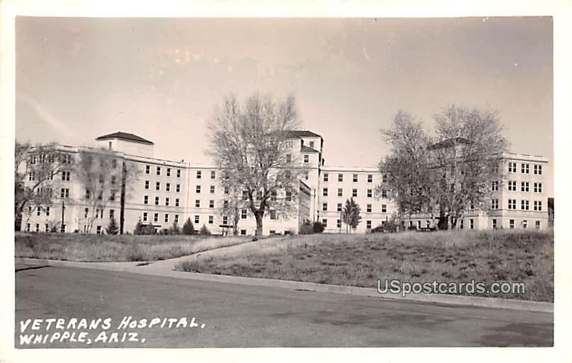 Veterans Hospital - Whipple, Arizona AZ Postcard