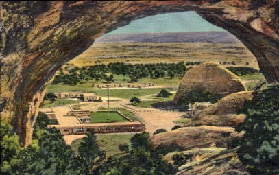 Central Navajo Indian Agency - Window Rock, Arizona AZ Postcard