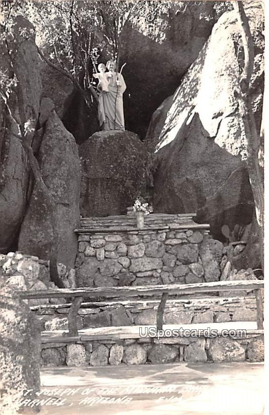 St Joseph of the Mountain Shrine - Yarnell, Arizona AZ Postcard