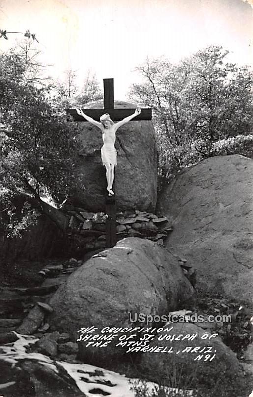 Crucifixion Shrine of St Joseph of the Mountains - Yarnell, Arizona AZ Postcard