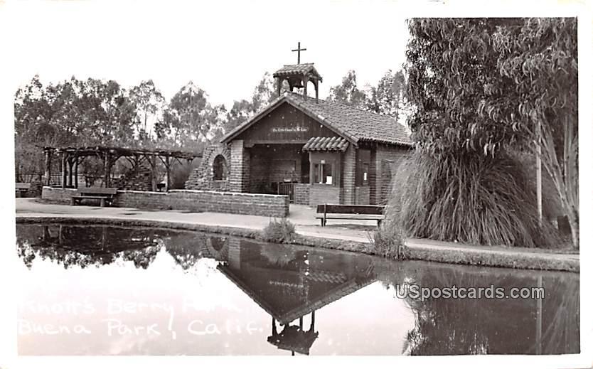 The Chapel - Buena Park, California CA Postcard