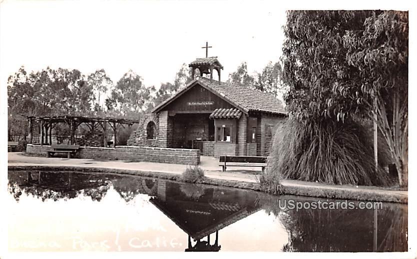 Chapel - Buena Park, California CA Postcard