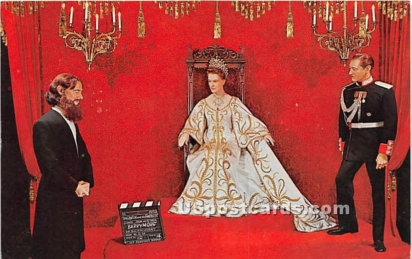 Barrymores, Rasputin and the Empress - Buena Park, California CA Postcard