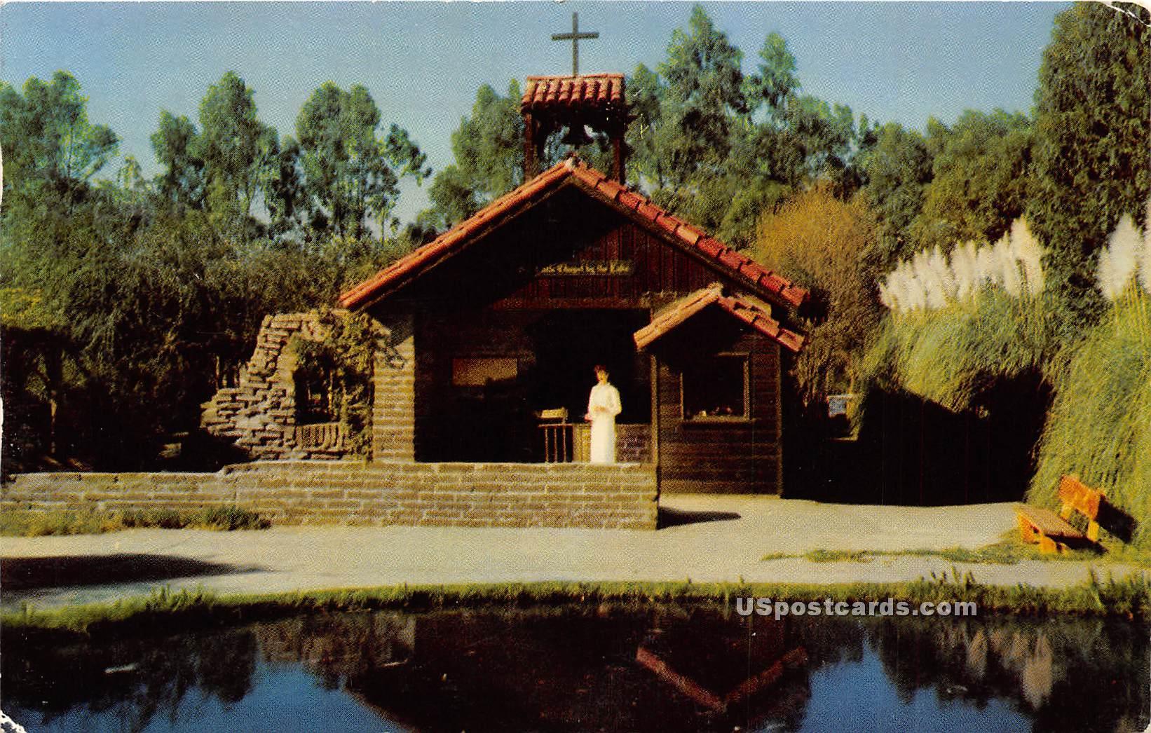 Little Chapel by the Lake - Buena Park, California CA Postcard