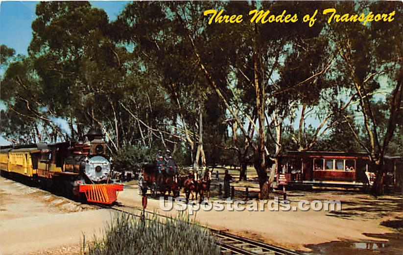 Knott's Berry Farm & Ghost Town - Buena Park, California CA Postcard