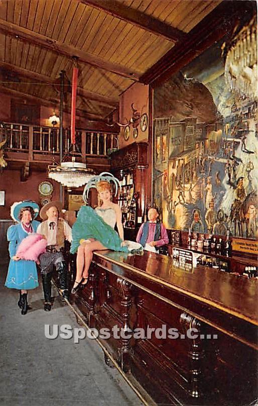 Calico Saloon Bar, Knott's Berry Farm & Ghost Town - Buena Park, California CA Postcard
