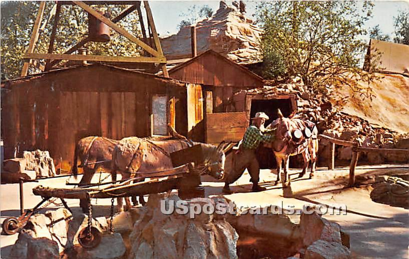 Roy the Old Prospector, Knott's Berry Farm - Buena Park, California CA Postcard