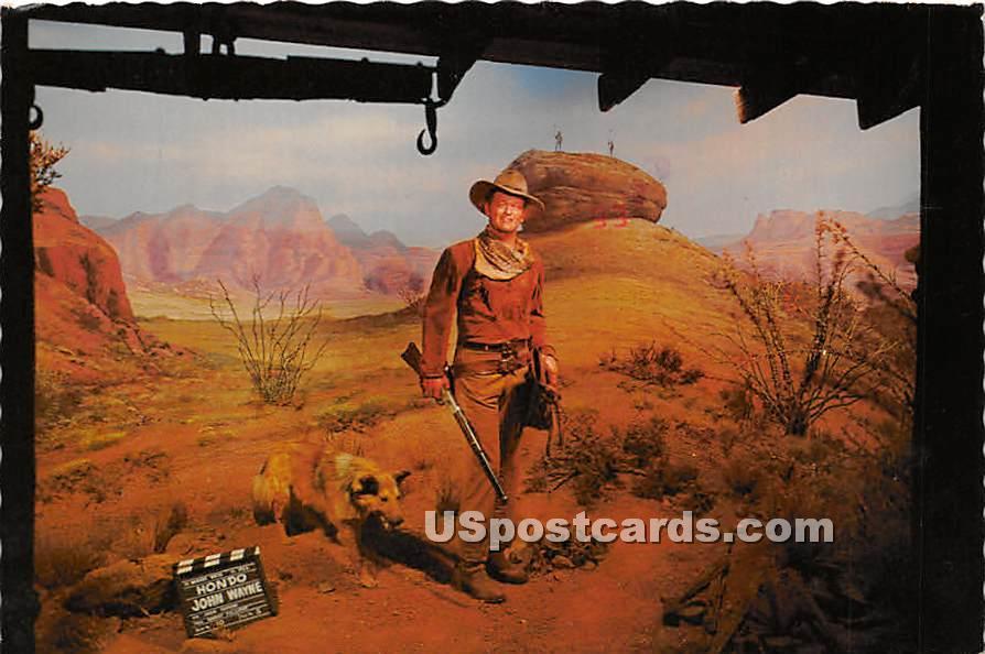 Movieland Wax Museum, John Duke Wayne - Buena Park, California CA Postcard