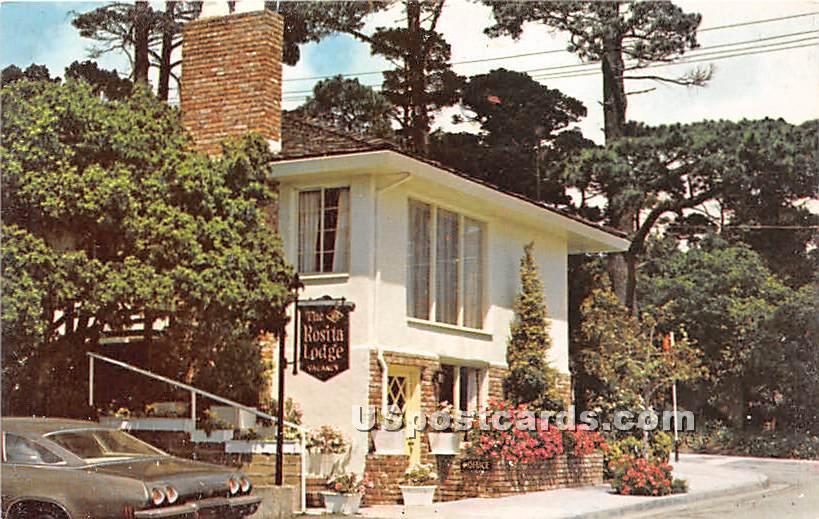 Rosita Lodge - Carmel by the Sea, California CA Postcard