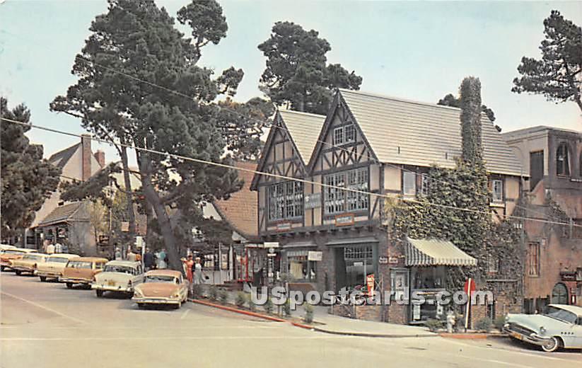 Carmel by the Sea, California CA Postcard