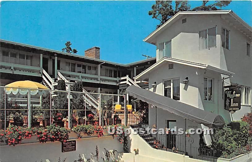 Wayfarer Inn - Carmel by the Sea, California CA Postcard