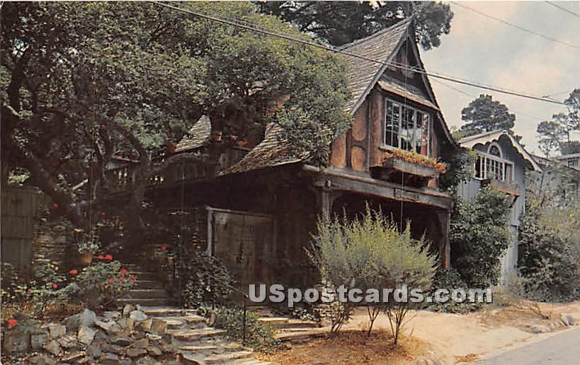 Swiss Chalet - Carmel by the Sea, California CA Postcard