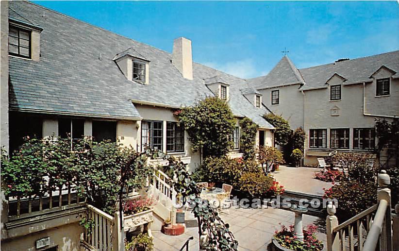 Sundial Lodge - Carmel by the Sea, California CA Postcard
