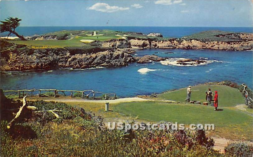 16th Hole, Cypress Point Golf Course - Carmel by the Sea, California CA Postcard