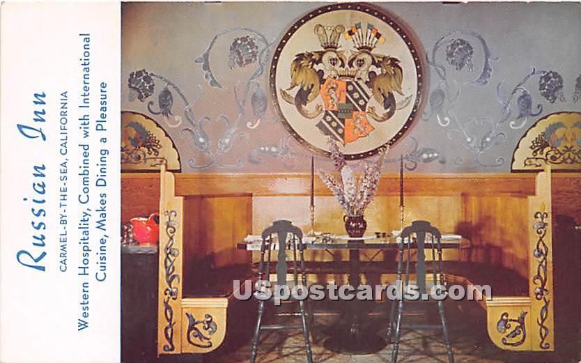 Russian Inn - Carmel by the Sea, California CA Postcard