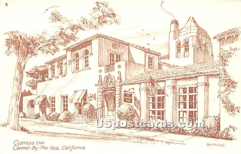Cypress Inn - Carmel by the Sea, California CA Postcard