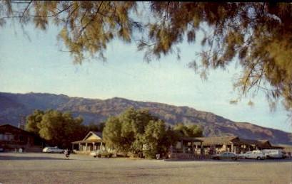 Stove Pipe Wells Village - Death Valley, California CA Postcard