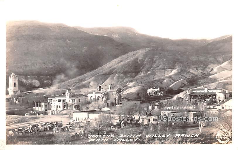 Scotty's Death Valley Ranch - California CA Postcard