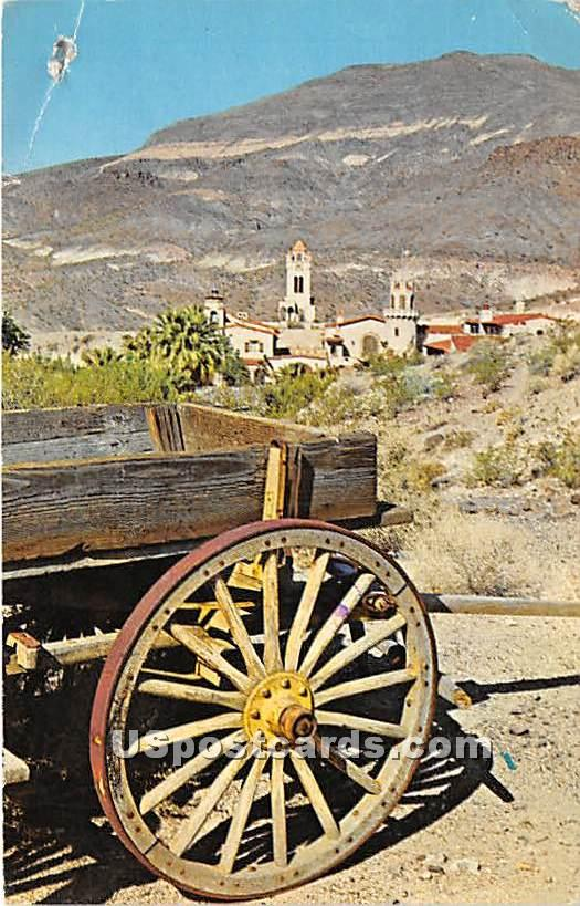Wagons - Death Valley, California CA Postcard