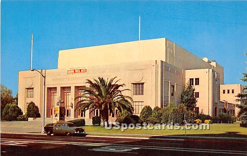 Fresno County Courthouse - California CA Postcard