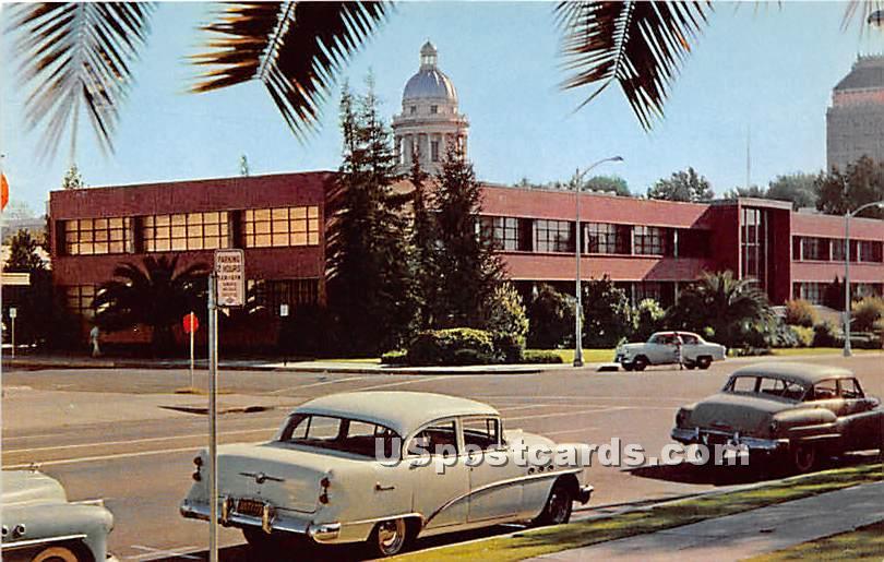 Fresno City Hall - California CA Postcard