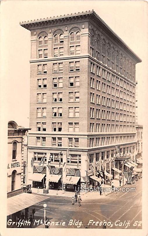 Griffith McKenzie Building - Fresno, California CA Postcard