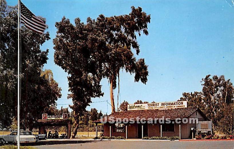 Tourist Information Center - Fresno, California CA Postcard