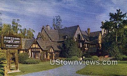 Forest Lawn Memorial Park - Glendale, California CA Postcard