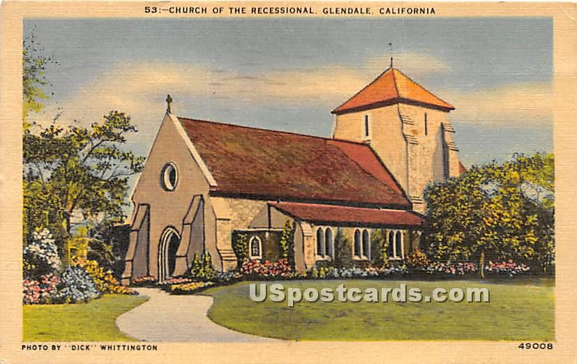Forest Lawn Memorial Park ... - Glendale, California CA Postcard