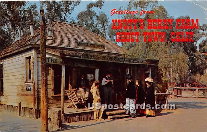 Knott's Berry Farm - Ghost Town, California CA Postcard