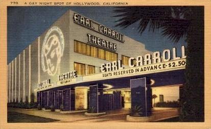 A Gay Night Spot - Hollywood, California CA Postcard