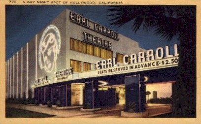 A Gay Night Spot - Hollywood, California CA Postcard