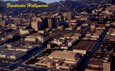 Fantastic Hollywood - California CA Postcard