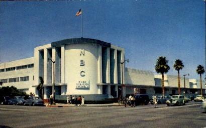 National Broadcasting Company Studios - Hollywood, California CA Postcard