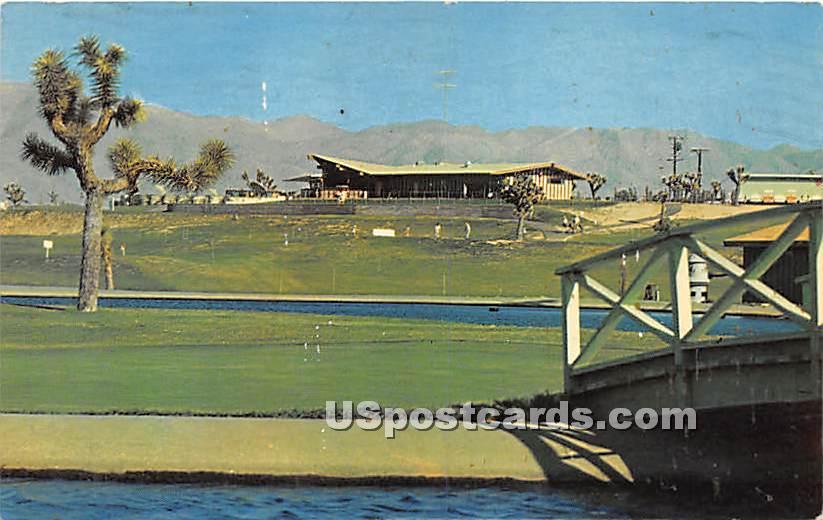 18 Hole Championship Golf Course - Hesperia, California CA Postcard