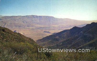 Laguna Mountains - Laguna Beach, California CA Postcard