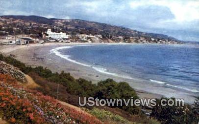 Laguna Bay - Laguna Beach, California CA Postcard