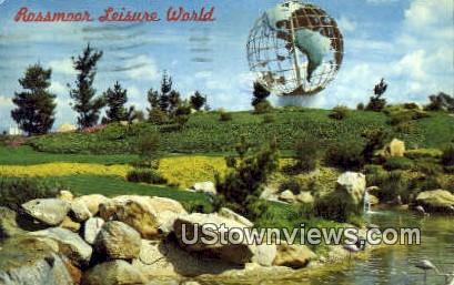 Rossmoor Leisure World - Laguna Beach, California CA Postcard