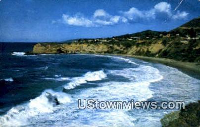 Three Arch Bay - Laguna Beach, California CA Postcard