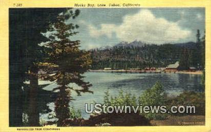 Meeks Bay - Lake Tahoe, California CA Postcard