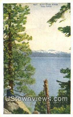 Freels Peak - Lake Tahoe, California CA Postcard