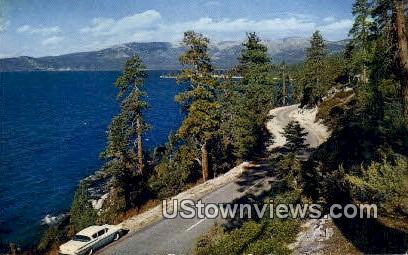 White Hills Junction - Lake Tahoe, California CA Postcard