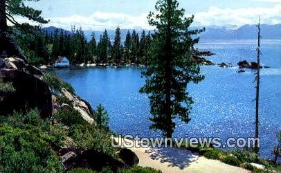 Sierra Nevada - Lake Tahoe, California CA Postcard