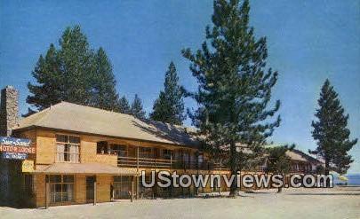 Sun N Sand Lodge - Lake Tahoe, California CA Postcard
