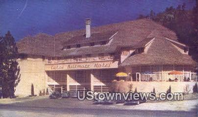 Tahoe Biltmore Hotel - Lake Tahoe, California CA Postcard