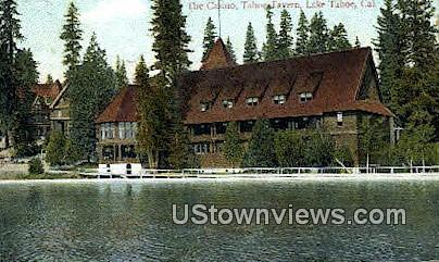 The Casino, Tahoe Tavern - Lake Tahoe, California CA Postcard